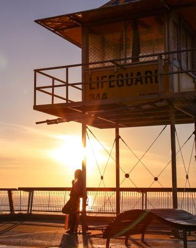Sunrise at Surfers Paradise 4